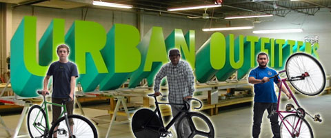 Urban Outfitters Fixed Gear Store